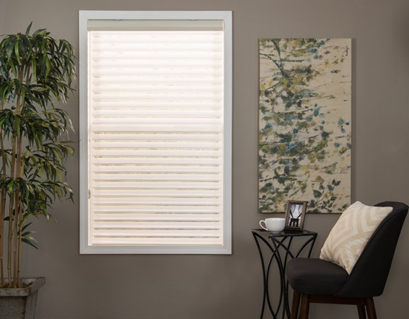 Standard Sheer Horizontal Shade White