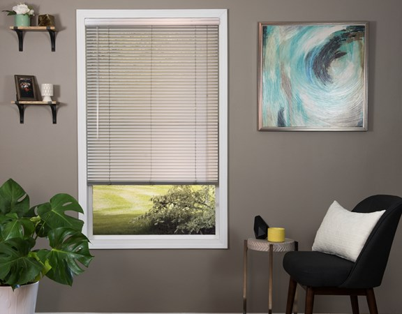 1 inch aluminum mini blind