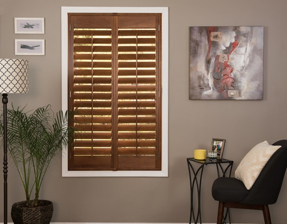 Plantation Shutters Wood Faux Wood Shutters Justblinds